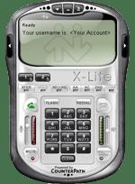 Configure your xlite or eyebeam softphone