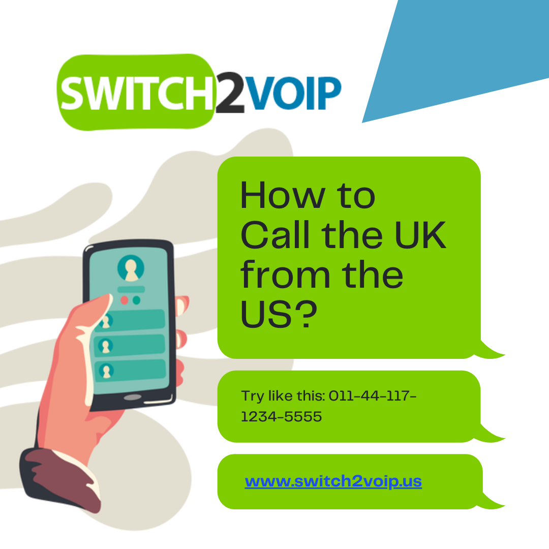 How to call the uk from the us