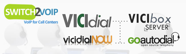 Vicidial virtual call center
