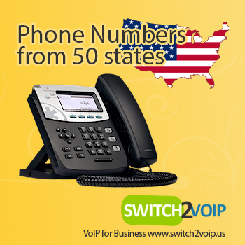 USA phone number, United States DID, IP phone