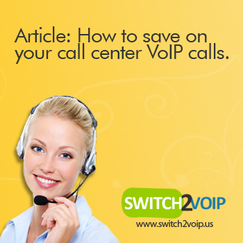 Save with call center voip