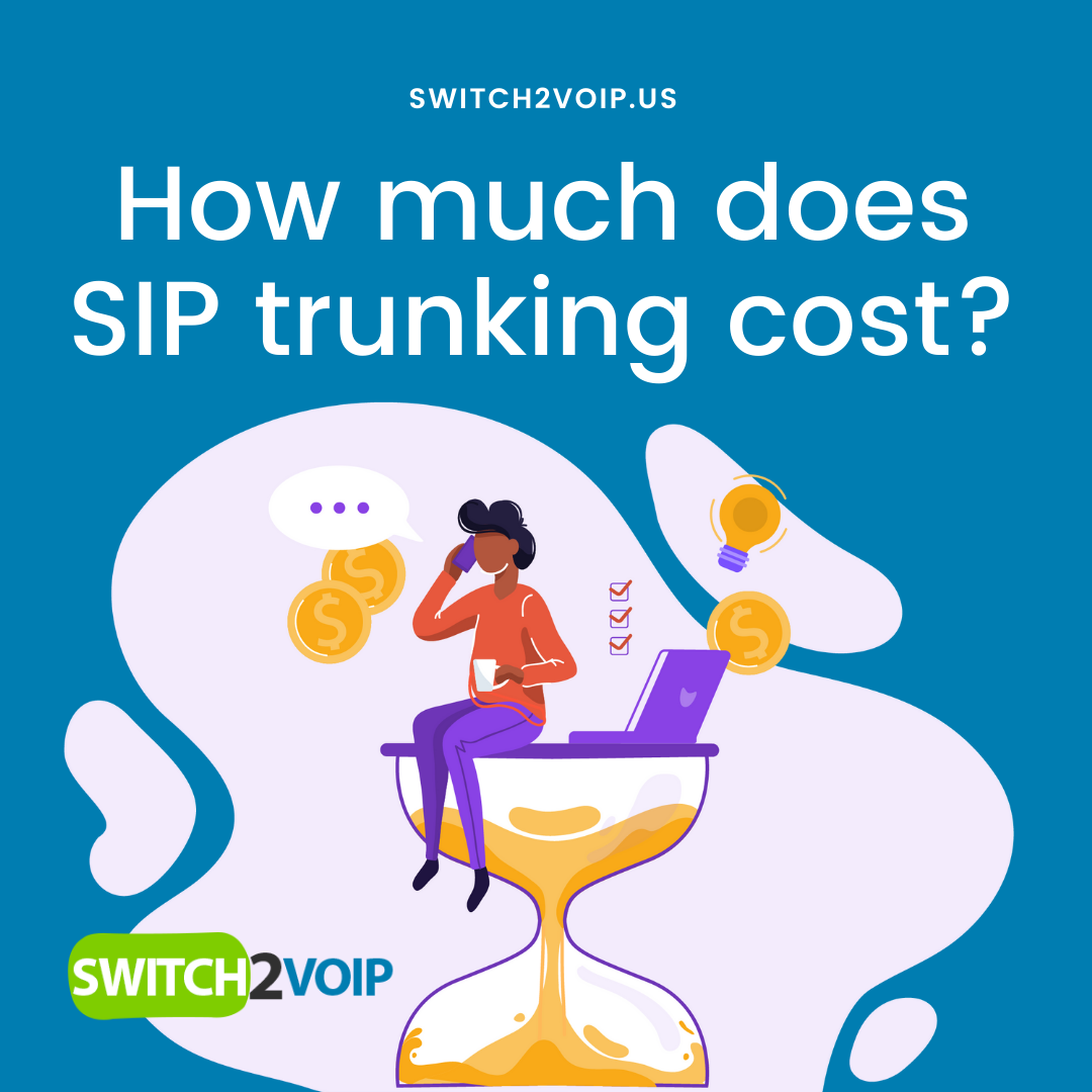 How much sip trunking cost?