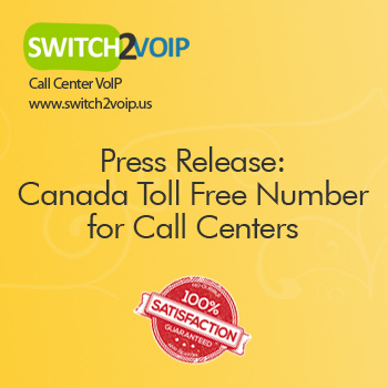 Canada toll free numbers for call centers