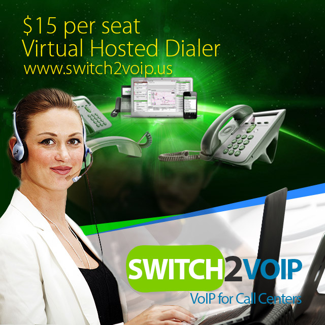 Virtual hosted dialer