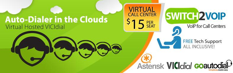 Virtual Call Center Hosted Auto Dialer