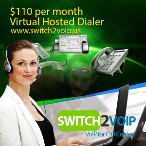Cloud hosted virtual dialer vicidial