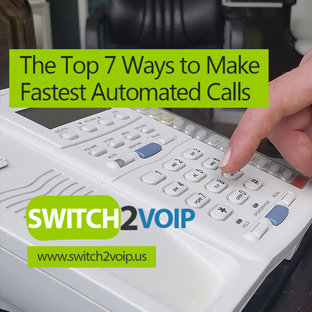The top 7 voip phone dialer automated technology