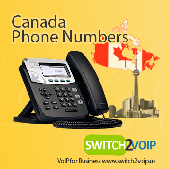 Canada phone number did