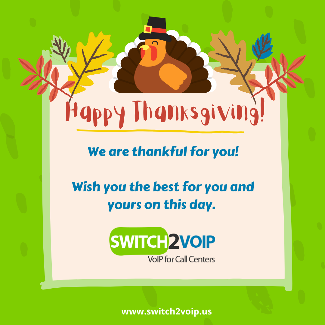 Happy thanksgiving day from switch2voip