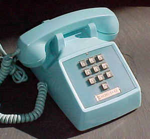 The first touch tone telephone was the western electric model 1500