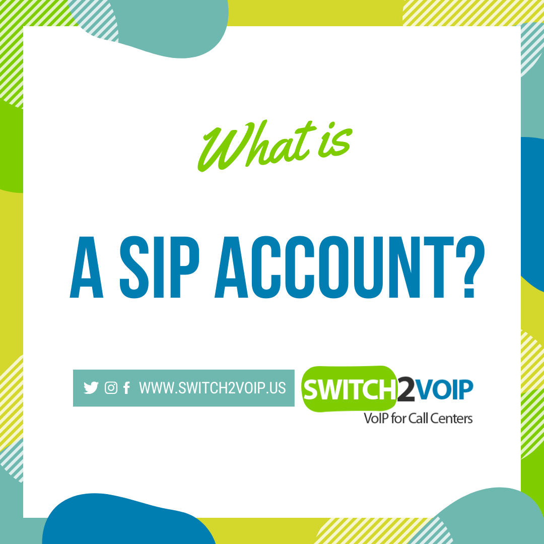 What is a sip account