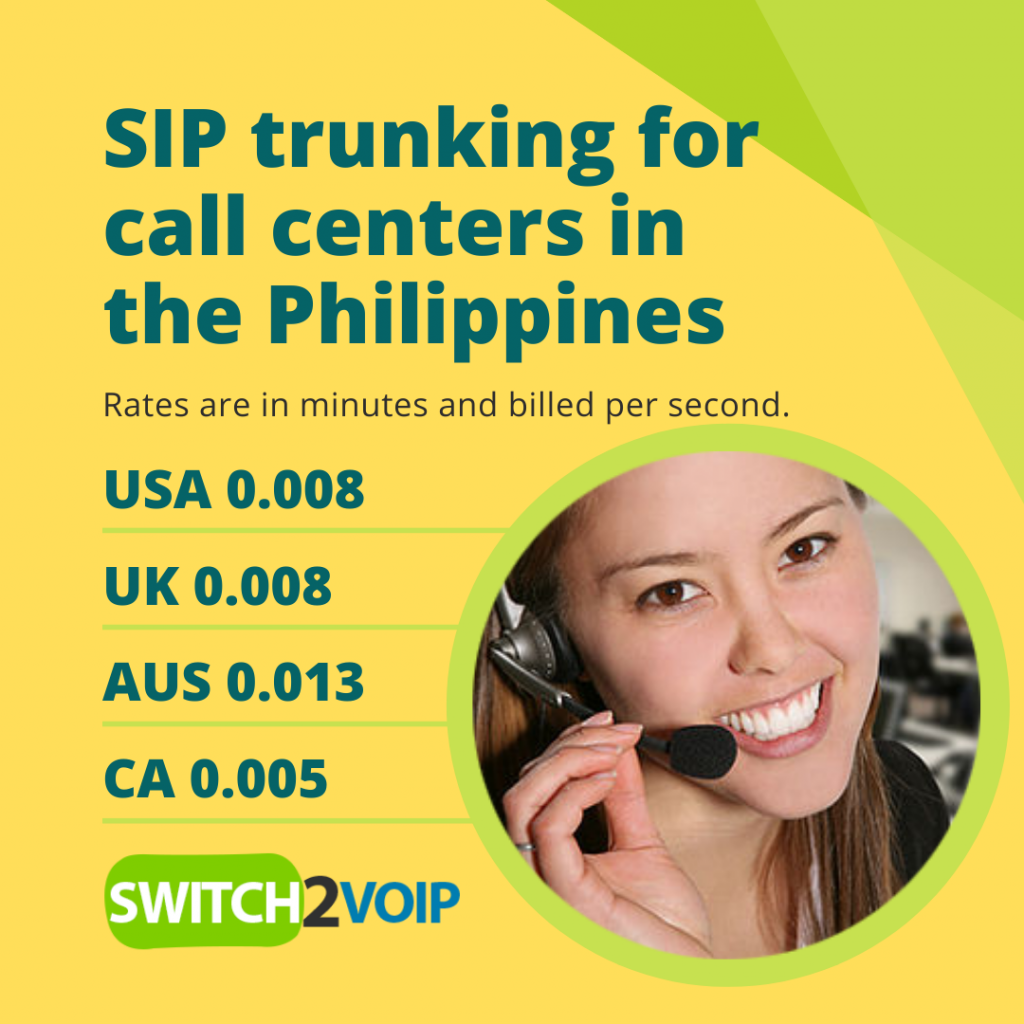 Philippines sip trunking