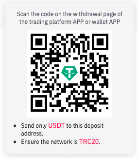 Buy VoIP with crypto USDT Tether TRC20 wallet