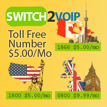 USA, Canada, UK Toll free number