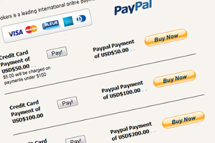 VoIP with Paypal
