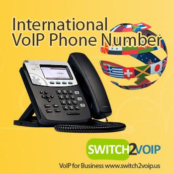 International VoIP phone number