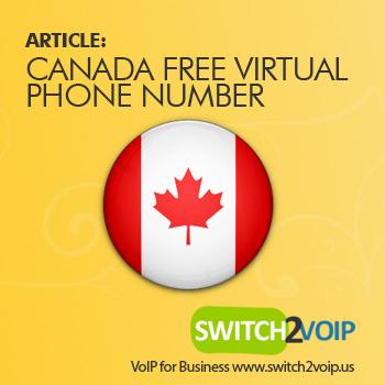 Free virtual phone numbers in canada